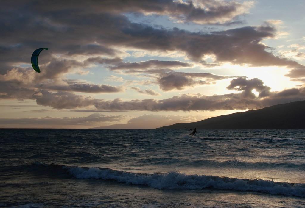 Maui Hawaii Wind Surfer